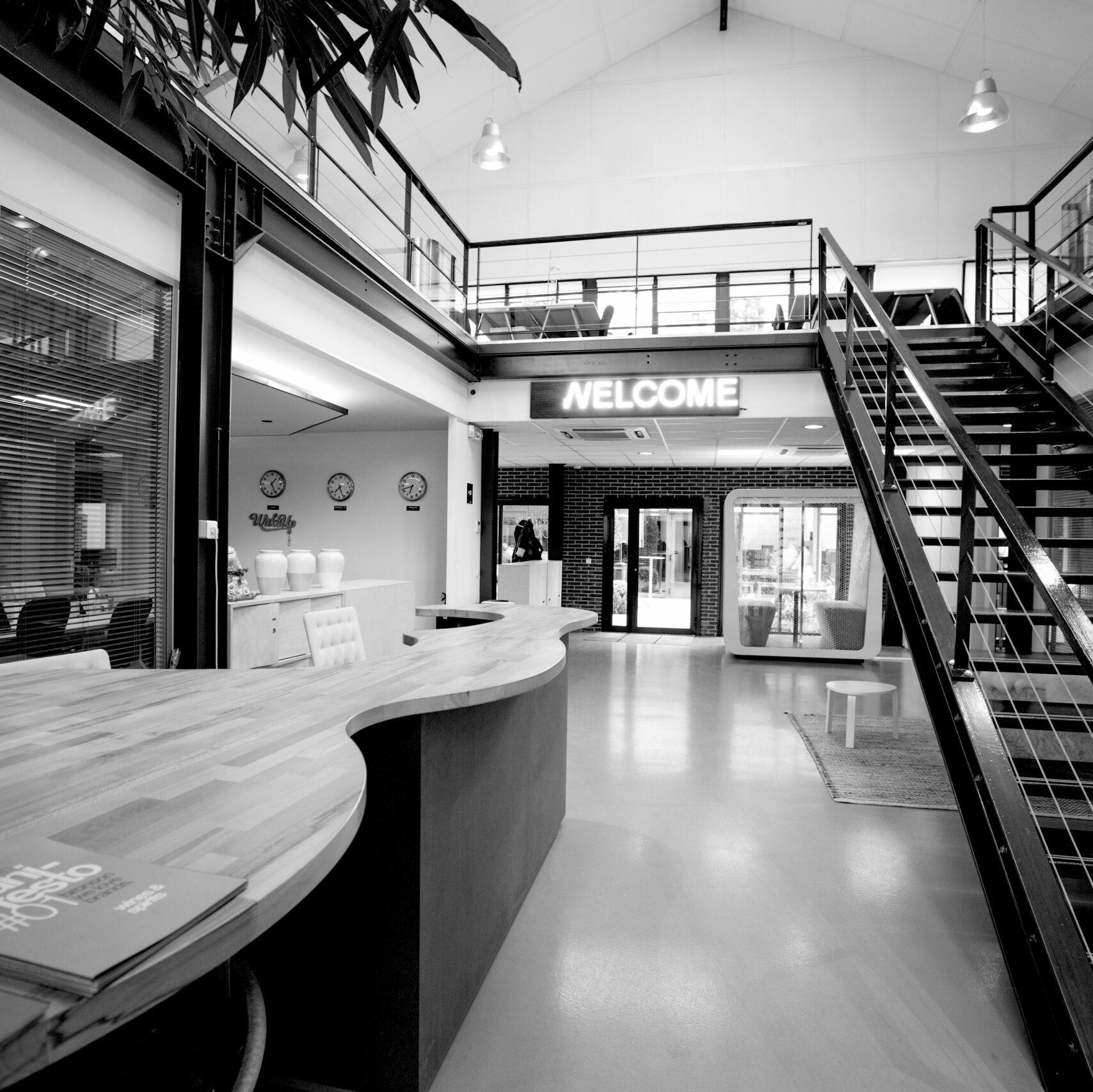 locaux headquarters Clichy design office