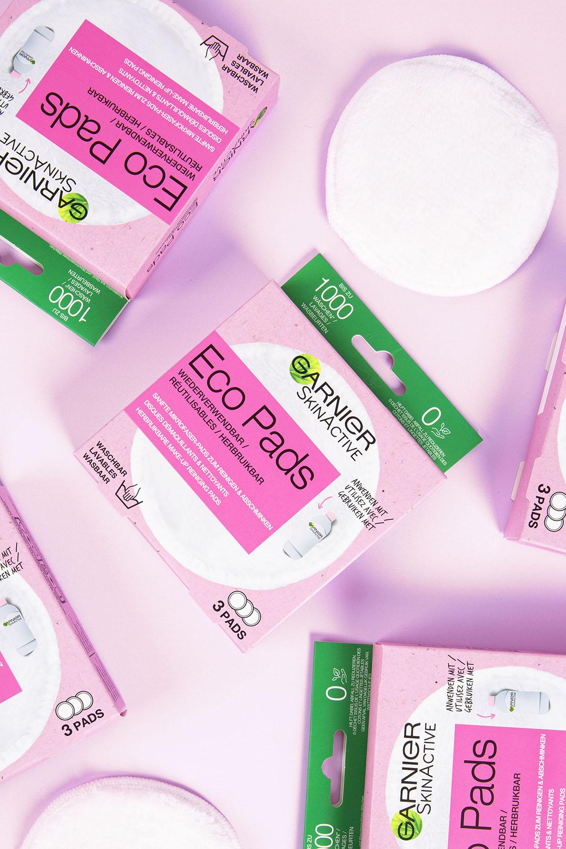 Garnier eco pads design-packaging recyclable-crop
